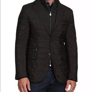 Corneliani Milestones Men's Quilted Travel jacket